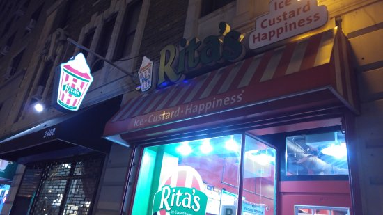 Photo of Italian Restaurant Rita's at 2486 Broadway, New York, NY 10025, United States
