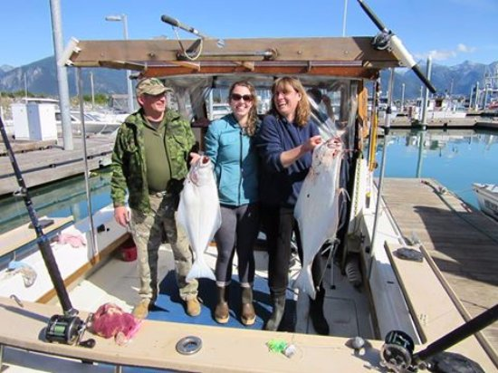 Halibut Fishing with Kraken Charters in Haines, Alaska