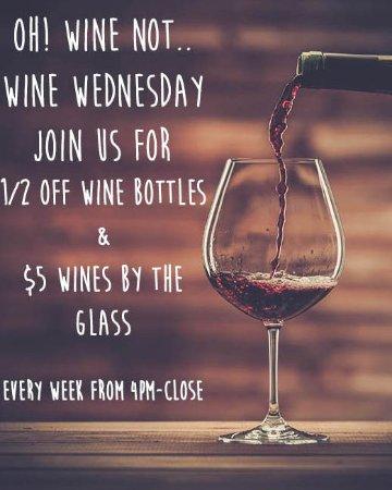 Monroe, Estado de Nueva York: Wine Wednesday!
