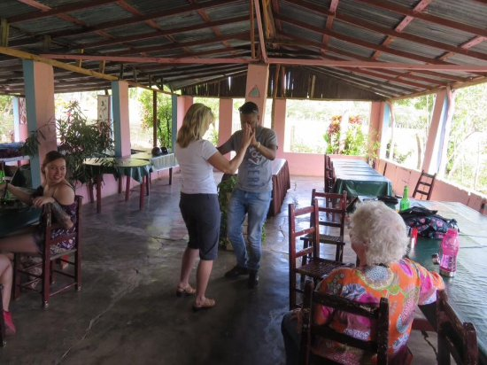 Marysol Tours: Great break, cold beer, feisty music, and dancing!