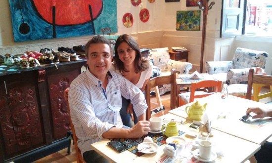 Goya, الأرجنتين: Café BARcelona, la vida nos sonríe devolvamos la sonrisa 😁
