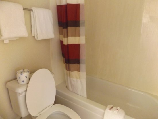 Excellent Toilet And Tub Picture Of Red Roof Inn St Louis Westport Ibusinesslaw Wood Chair Design Ideas Ibusinesslaworg