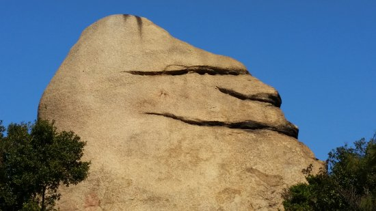 Mt. Ojigatake: Smile Rock