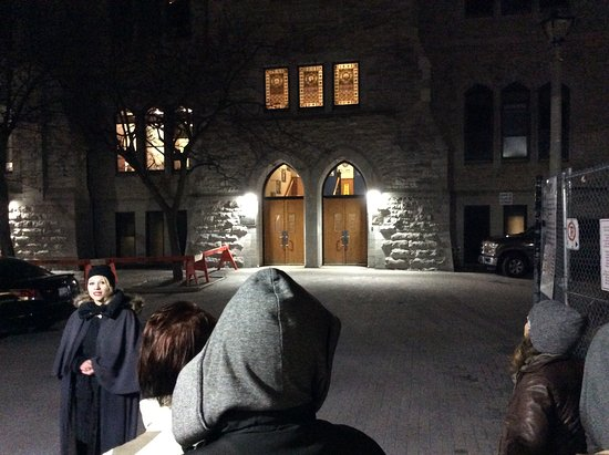 Tour stop at a haunted high school in Ottawa