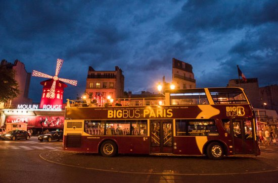 Paris Sightseeing Big Bus 2-Hour ...