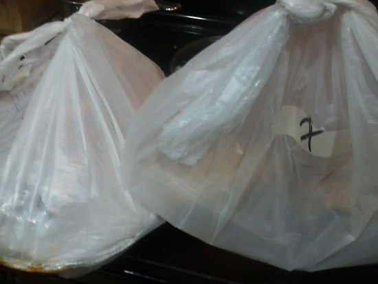 Famulari's Pizzeria Oakbrook: The bags arrived hot and on time!