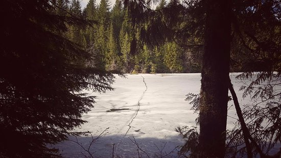 Alice Lake Provincial Park: one of the lakes