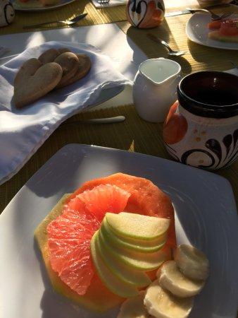 Casa Tía Micha: Breakfast