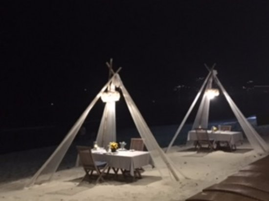 Buri Rasa Village Samui: Buffet Dinner on the beach (Option provided) by resort