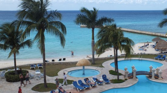 El Cozumeleno Beach Resort : The view from our room