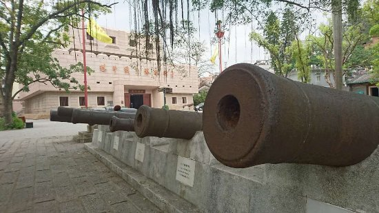 Opium War Museum: outdoor exhibits