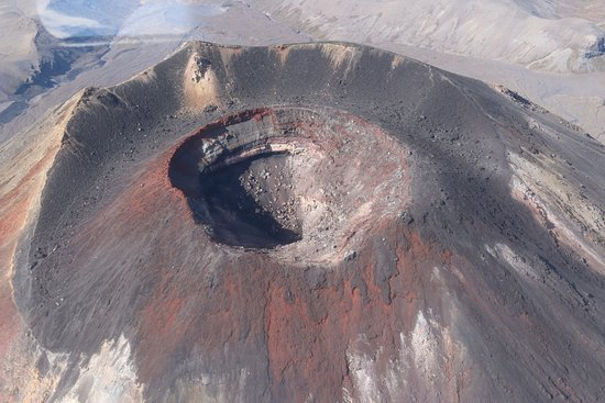 Mountain Air Scenic Flights Day Tour: Inside of a volcano