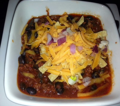 Norridge, IL: a bowl of chili