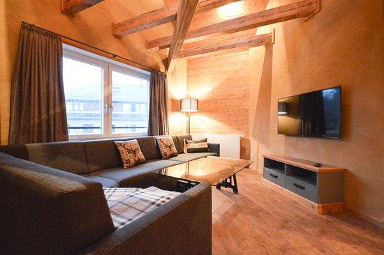 Wohnzimmer bilde av die h tten 550 nn i braunlage for Design hotel viktoria