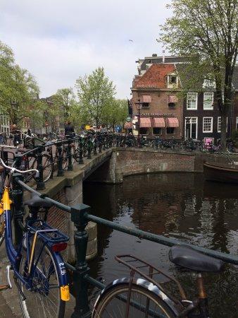 Photo of Modern European Restaurant Café Hans en Grietje at Spiegelgracht 27, Amsterdam 1017 JP, Netherlands