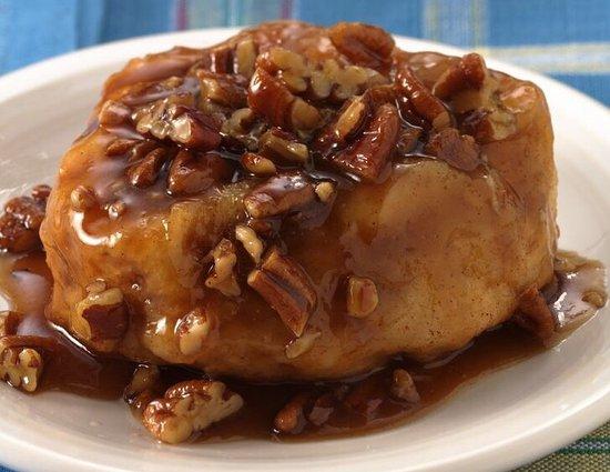 Hillsville, VA: Incredible pecan cinnamon rolls!