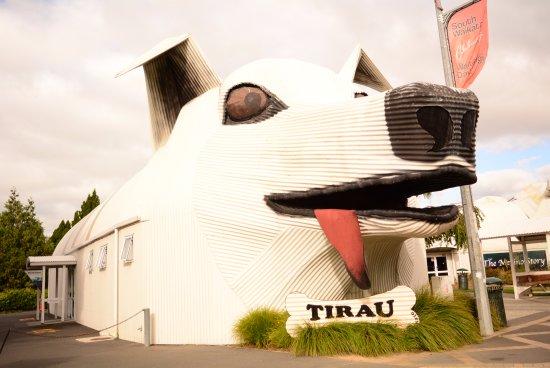 Tirau, Новая Зеландия: The Dog.
