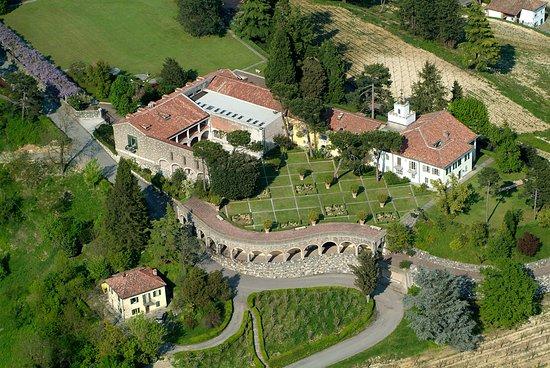 Acqui Terme, Italie: Villa Ottolenghi Wedekind vista dall'alto