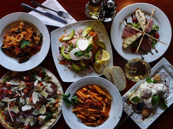 Del Villaggio: Some of our most popular dishes.