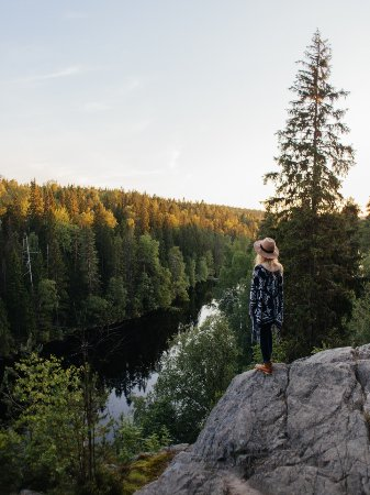 National park Helvetinjärvi in Ruovesi, Helvetinkoluntie 775