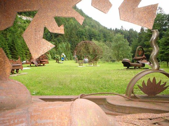 Kramsach, النمسا: Skulpturenpark Kramsach, Alpbachtal Seenland