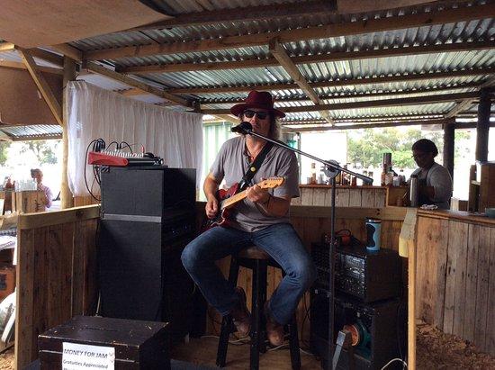 Hermanus, Güney Afrika: Lovely live music