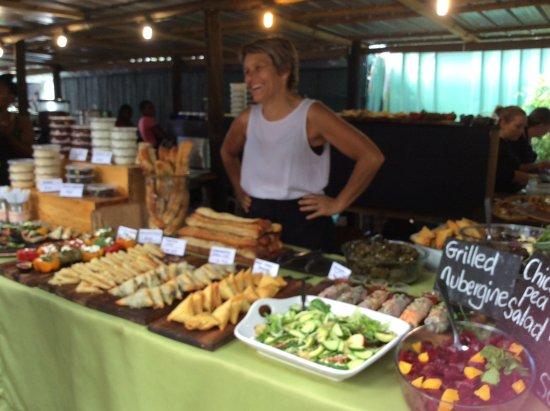 Hermanus, Güney Afrika: Lovely local cuisine
