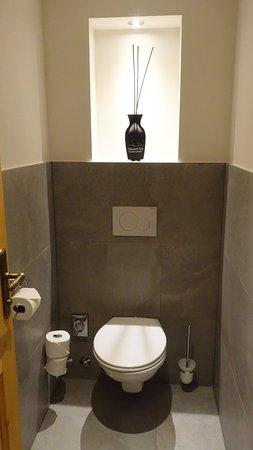 Hanusel Hof: separate Toilette