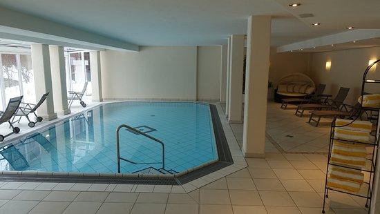 Hanusel Hof: Indoor Pool