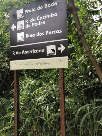 Praia do Americano: Entrada