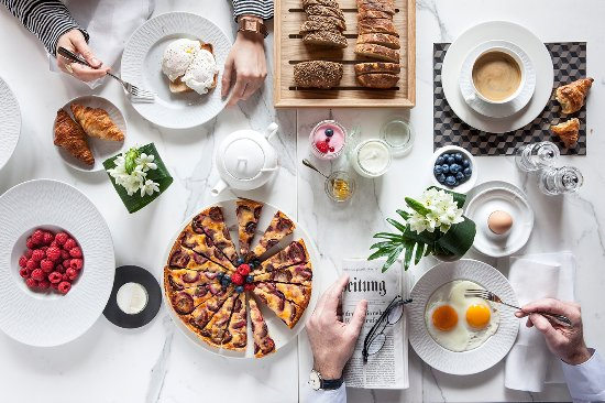 Storchen Zurich: Breakfast