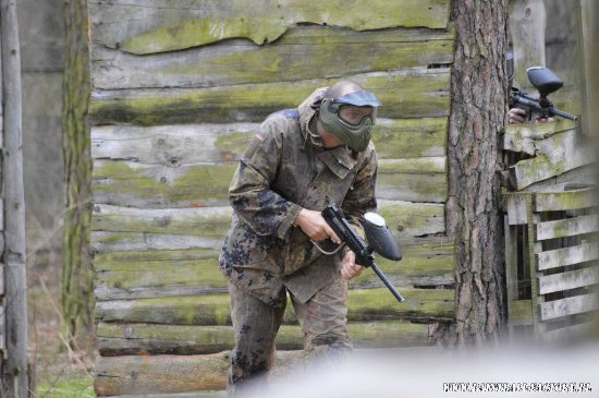 Rybnik, Poland: Paintball Game