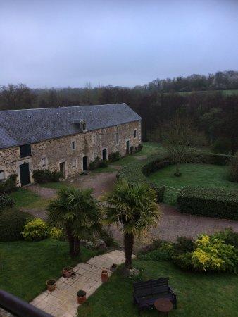 Manoir de la Riviere : View from Room 2