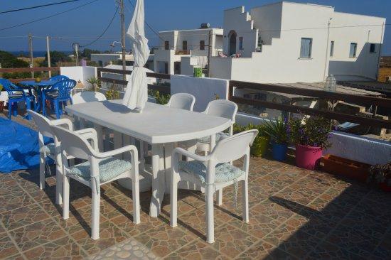 Pandrossos Hotel: gande terrasse
