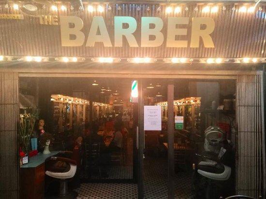 The Barber Cafe Bar Kuching Sarawak Malaysia
