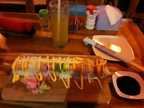 Kamisama Japanese Restaurant: Attractive and delicious!