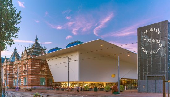 Photo of Tourist Attraction Stedelijk Museum Amsterdam at Museumplein 10, Amsterdam 1071 DJ, Netherlands