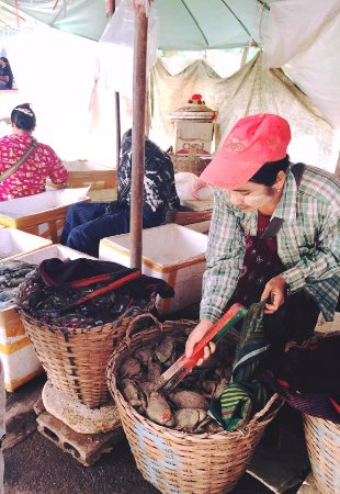 Mae Sot, Thailandia: market