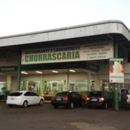 Santa Terezinha de Itaipu, PR: Churrascaria anexa ao hotel. Muito bons.
