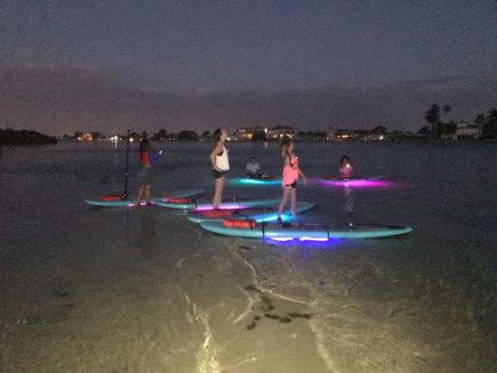 Treasure Island, FL: NEON tour