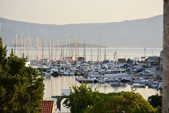 Lumbarda, Croacia: View from the hotel patio