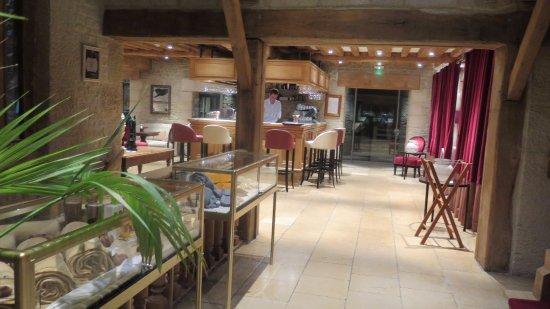 Les Manoirs de Tourgéville: bar