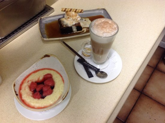 Антрим, UK: Some of our ever popular Homemade desserts and  coffees !!