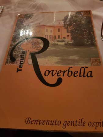 Pantigliate, Italie : nome e logo del ristorante.