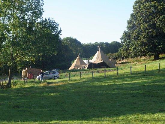 Bedgebury Camping: Communal Tee Pee