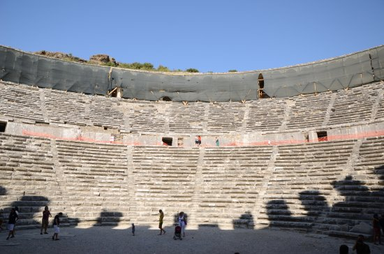 Aspendos Ruins and Theater照片