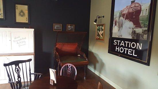 Hucknall, UK : Our traditional bar games room.