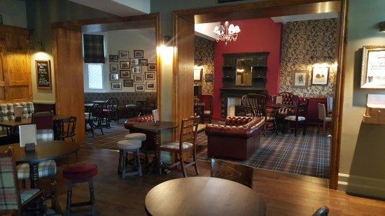 Hucknall, UK : Our lounge.