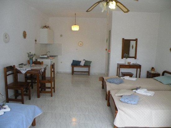 Pounta, Greece: All Remvi's garden view studios are spacious