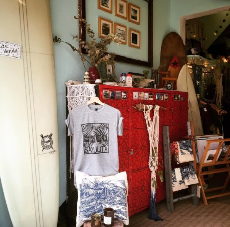 Quiverito Surf Block Printed T Shirts Local Photography And Other Hand Made